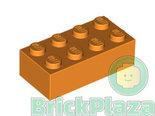 LEGO-Brick-2x4-orange-3001-4153827