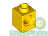 LEGO-Technic-Brick-1x1-w.-1-Hole-yellow-6541-654124